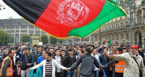 افغان 550x295 - شرایط بحرانی پناهجویان افغان در جرمنی