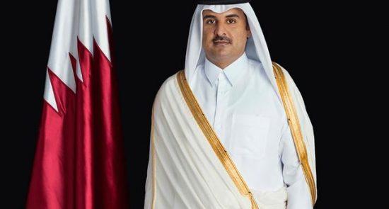 امیر قطر 550x295 - اقدامات قطر برای تضعیف جایگاه بنادر امارات متحده عربی