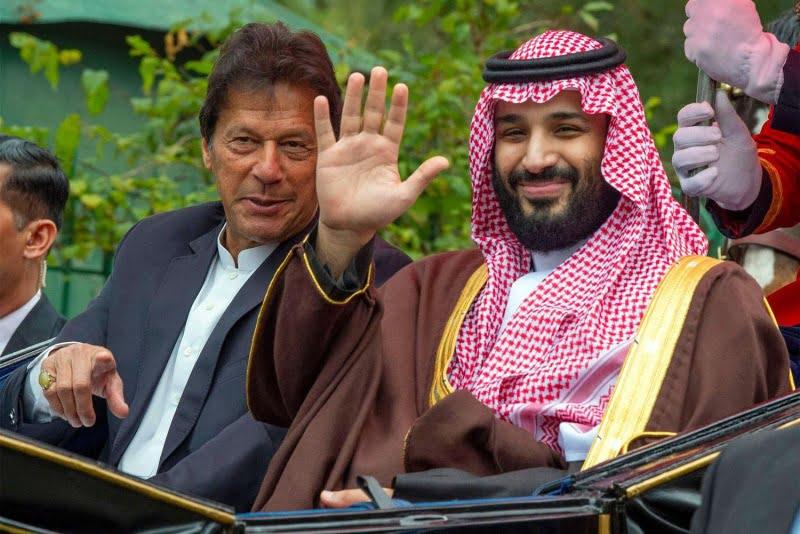 بن سلمان عمران خان 1 - سفر بن سلمان به پاکستان، تهدید جدی آینده صلح در افغانستان