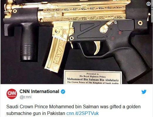 تحفه پاکستان - تصویر/ تحفه گرانقیمت عمران خان به بن سلمان!