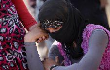 دختران ایزدی5 226x145 - برخورد وحشیانه داعش با دخترانی که به جهاد النکاح نپیوستند + تصاویر(18+)