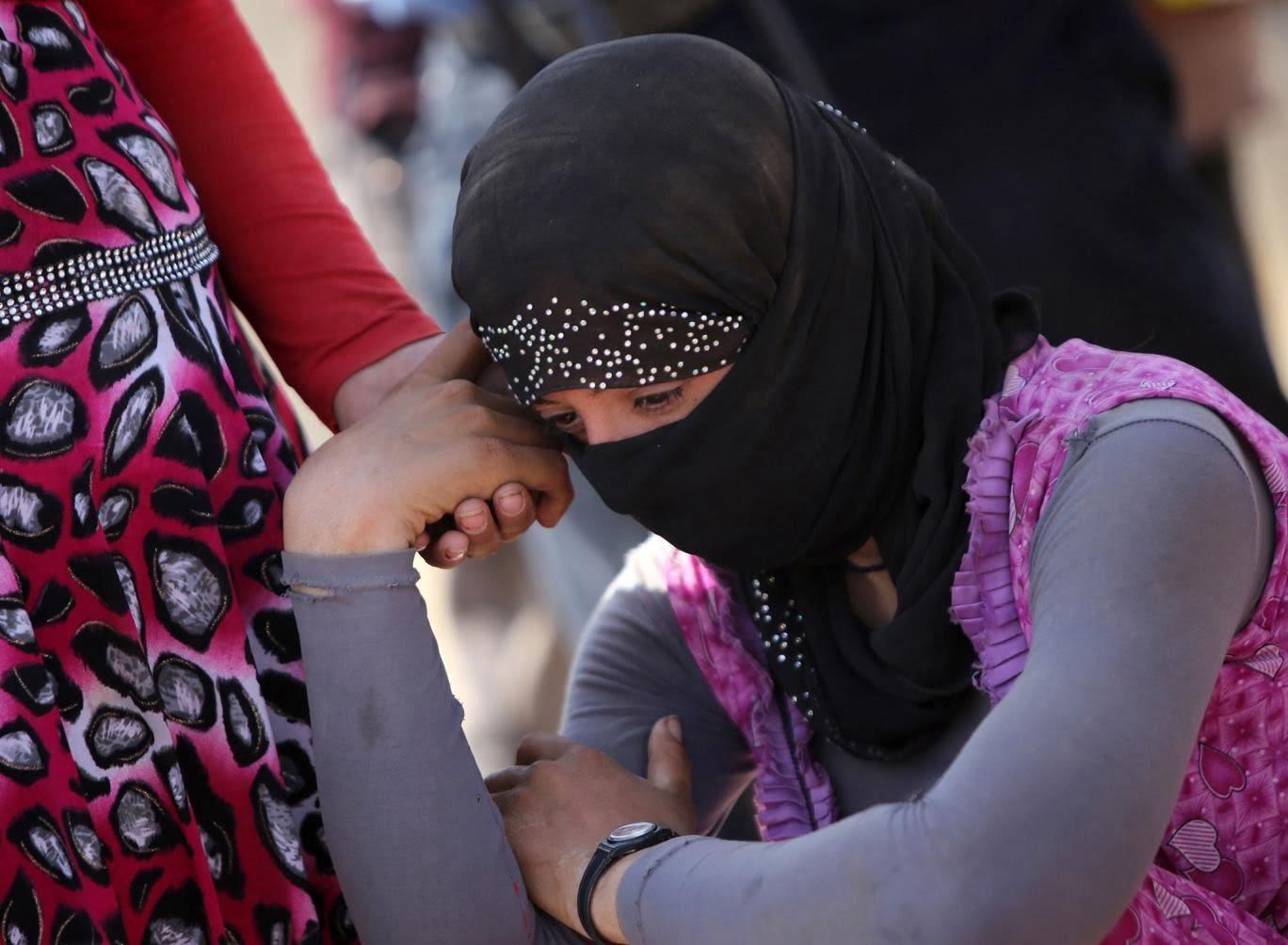 دختران ایزدی5 - معرفی کشورهای عربی خریدار زنان ایزدی