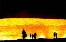 دروازه جهنم 6 226x145 - دروازه جهنم در ترکمنستان + تصاویر