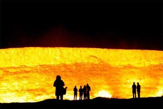 دروازه جهنم 6 - دروازه جهنم در ترکمنستان + تصاویر