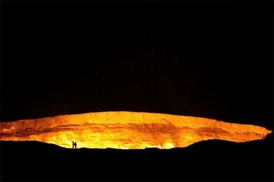 دروازه جهنم 7 - دروازه جهنم در ترکمنستان + تصاویر