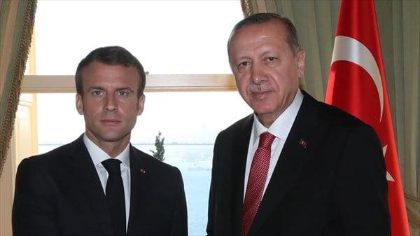 رجب طیب اردوغان امانویل مکرون - توصیه اردوغان به همتای فرانسوی اش