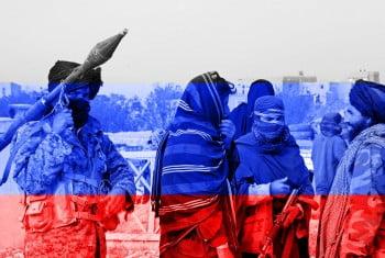 روسیه طالبان - روسیه طالبان را تروریست نمی داند!