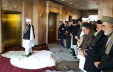 طالبان نماز 226x145 - عالم دین: نماز خواندن عقب اعضای طالبان در شریعت جواز ندارد