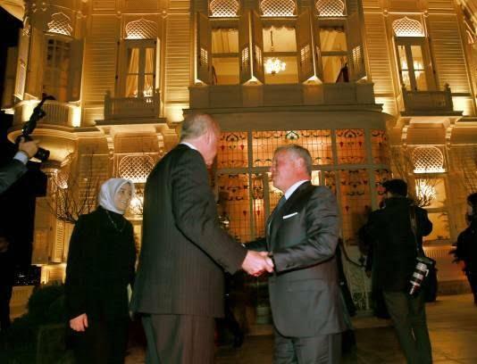 عبدالله دوم رجب طیب اردوغان 1 - تصاویر/ دیدار شاه اردن با رییس جمهور ترکیه