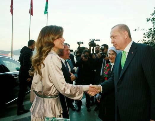 عبدالله دوم رجب طیب اردوغان 2 - تصاویر/ دیدار شاه اردن با رییس جمهور ترکیه