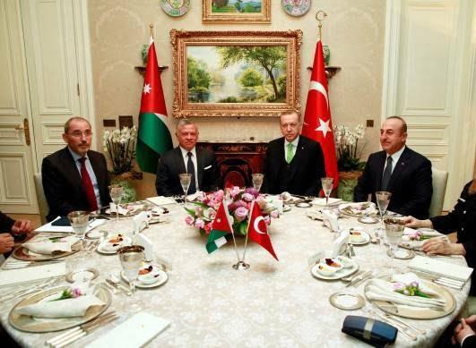 عبدالله دوم رجب طیب اردوغان 3 - تصاویر/ دیدار شاه اردن با رییس جمهور ترکیه