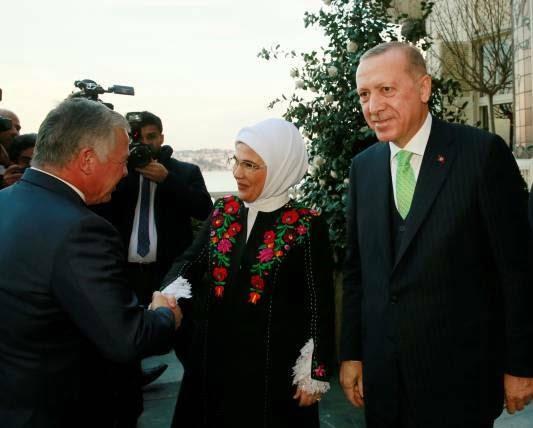 عبدالله دوم رجب طیب اردوغان 4 - تصاویر/ دیدار شاه اردن با رییس جمهور ترکیه
