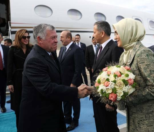 عبدالله دوم رجب طیب اردوغان 5 - تصاویر/ دیدار شاه اردن با رییس جمهور ترکیه
