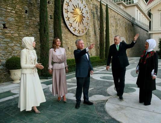 عبدالله دوم رجب طیب اردوغان 6 - تصاویر/ دیدار شاه اردن با رییس جمهور ترکیه