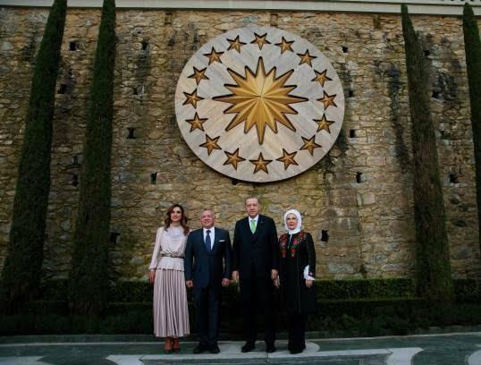 عبدالله دوم رجب طیب اردوغان 7 - تصاویر/ دیدار شاه اردن با رییس جمهور ترکیه