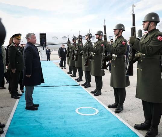 عبدالله دوم رجب طیب اردوغان 8 - تصاویر/ دیدار شاه اردن با رییس جمهور ترکیه