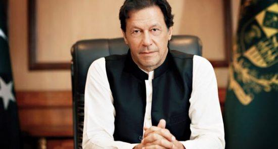 عمران خان 550x295 - تاکید امریکا بر نقش کلیدی عمران خان در توافق صلح با طالبان
