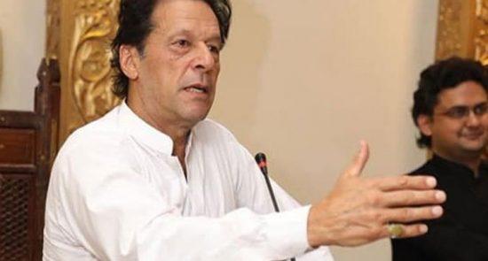عمران خان 550x295 - درخواست مساعدت عمران خان از مقامات یک کشور عربی