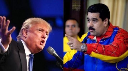 مادورو ترمپ 530x295 - هشدار نیکلاس مادورو به دونالد ترمپ