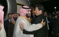 محمدبن سلمان عمران خان 226x145 - حیف و میل پول بیت المال پاکستان به بهانه سفر بن سلمان به اسلام آباد