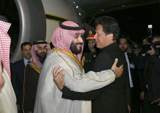 محمدبن سلمان عمران خان - بن سلمان جیب های عمران خان را پر کرد!