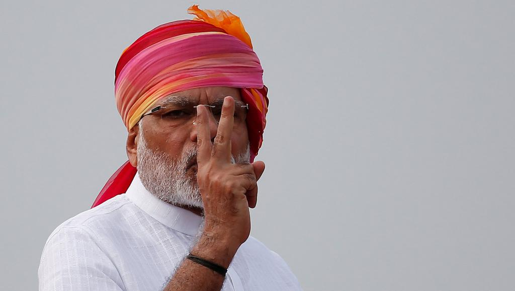 مودی 1 - پیروزی حزب نارندرا مودی در انتخابات هند