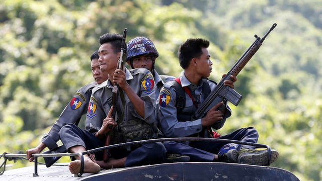 میانمار - هاآرتص: اسراییل همچنان به میانمار سلاح میفروشد