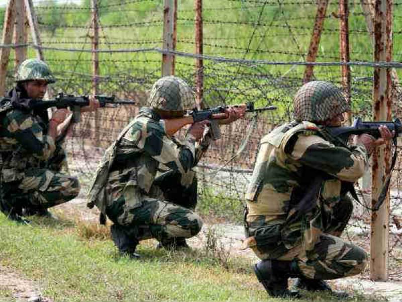 هند اردوی ملی - وقوع یک درگیری میان عساکر هندی و پاکستانی