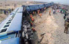 هند 226x145 - خارج شدن یک قطار مسافربری از ریل در شمال هند