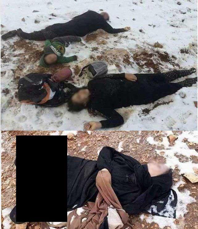 پناهجو مرگ 1 1 - مرگ دردناک یک خانواده پناهجوی افغان در کوههای بین ترکیه و ایران + تصاویر(18+)