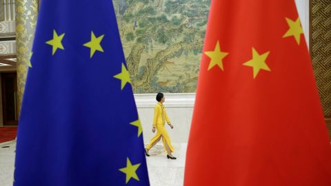 چین اروپا - نقض حقوق بشر در سین کیانگ چین پس از بازدید نماینده گان اتحادیه اروپا