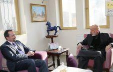 کرزی جان بس 226x145 - دیدار حامد کرزی با سفیر امریکا در کابل