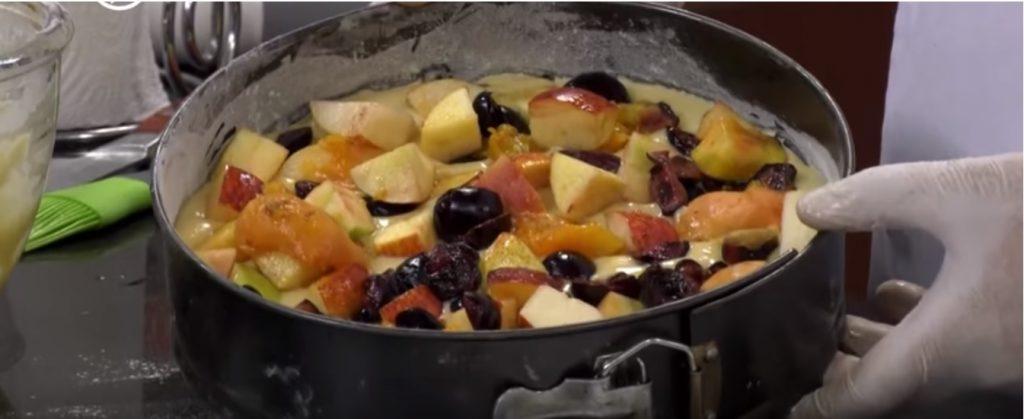 کیک میوه ای 2 1024x419 - آشپزی/ طرز تهیه کیک میوه ای