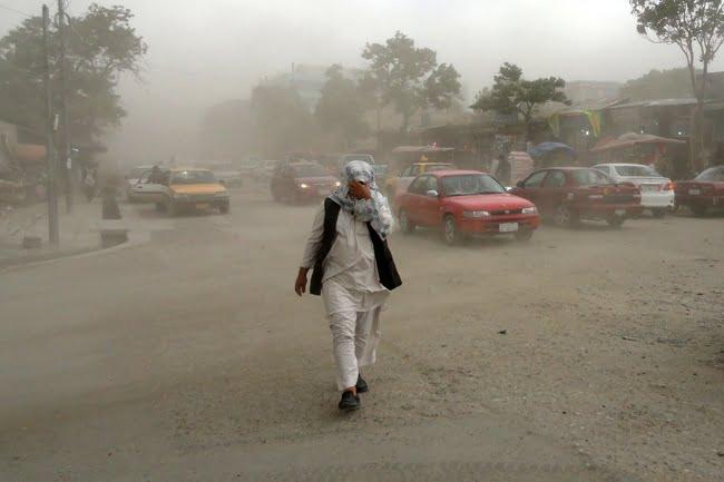 آلوده گی هوا - افغانستان چهارمین کشور آلوده جهان