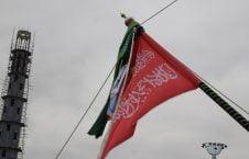 تصاویر/ برافراشتن جهنده در مزارشریف با حضور داشت رییس جمهور غنی