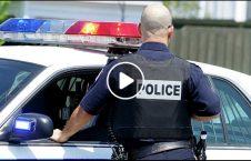 ویدیو/ برخورد جنجالی موترسایکل سوار با پولیس در سرک