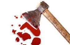 تبر 226x145 - قتل مادراندر با تبر