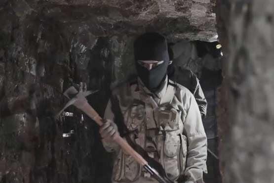 تونل داعش - تونل زیر زمینی داعش در ننگرهار کشف شد