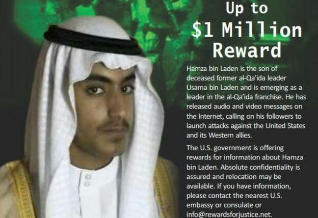حمزه بن لادن - جریمه سنگین عربستان برای پسر بن لادن