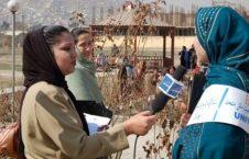 خبرنگار زن 226x145 - افزایش ناامنی ها و کمرنگ شدن حضور زنان خبرنگار در رسانه ها