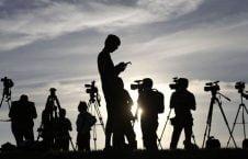 خبرنگار 1 226x145 - برخورد نامناسب با برخی از خبرنگاران در شب و روز انتخابات ریاست جمهوری