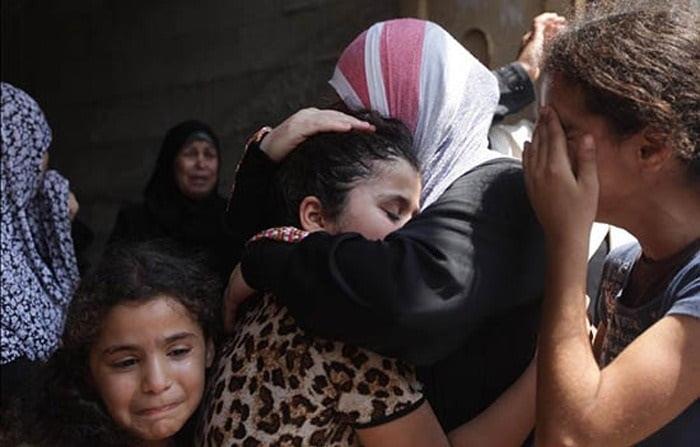 زنان غزه 1 - چه کسی زنان غزه را داعشی خواند؟