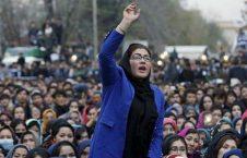 زن 1 226x145 - هشدار زنان افغان به طالبان؛ زورگویی پس از توافق صلح ممنوع!