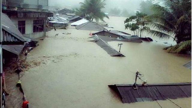 سیل 1 - سیلاب مرگبار در شرق اندونزیا