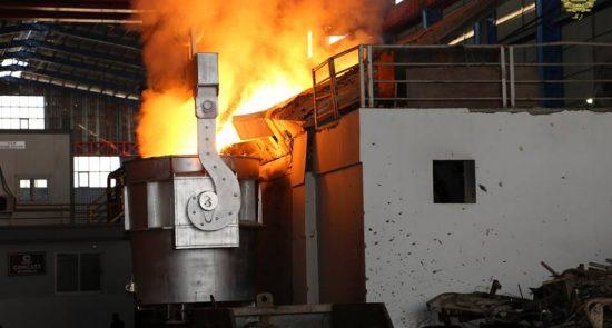 فابریکه ذوب آهن 550x295 - ورشکستگی در کمین فابریکه های ذوب آهن افغانستان