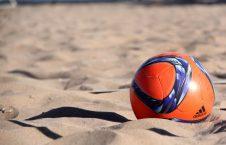 فوتبال ساحلی 1 226x145 - تیم ملی فوتبال ساحلی افغانستان در برابر فلسطین تن به شکست داد