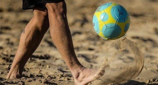 فوتبال ساحلی 550x295 - اشتراک ملی پوشان کشورمان در رقابت های فوتبال ساحلی قهرمانی آسیا
