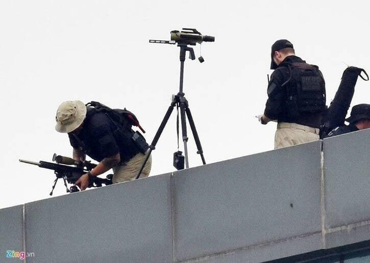 محافظان ترمپ 6 - تصاویر/ محافظان خاص ترمپ
