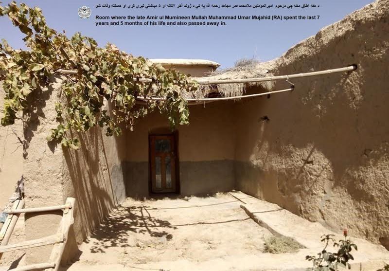 مخفیگاه ملا عمر - ذبیح الله مجاهد تصاویر مخفیگاه ملا عمر را نشر کرد