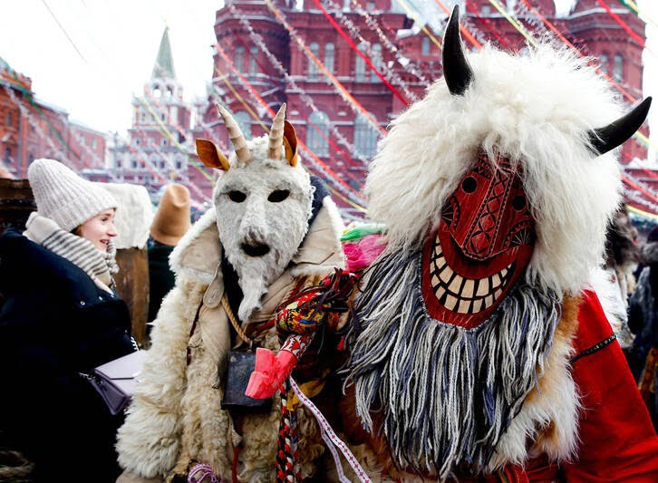 مردم روسیه 3 - تصاویر/ خداحافظی مردم روسیه با موسم زمستان